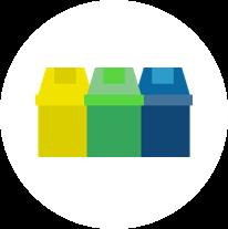 Tricycle Environnement gestion déléguée des déchets PAV