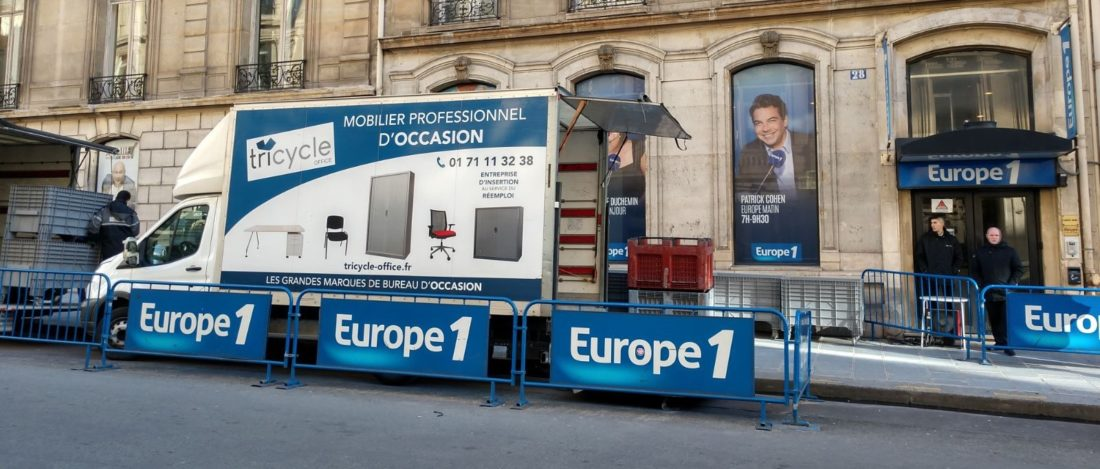 Tricycle Environnement recyclage entreprise DEEE Europe 1