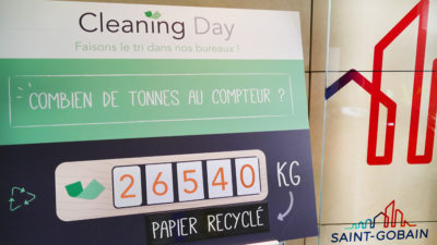 Tricycle-Environnement-Cleaning-Day-collecte-recyclage-tri-dechets-team-building-RSE-ESS-Saint-Gobain