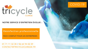 Tricycle Désinfection - Notre package