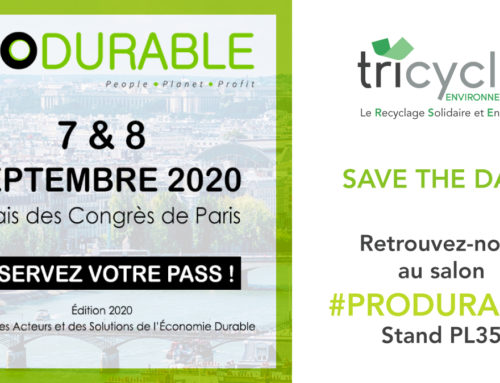 Tricycle participe au salon Produrable 2020