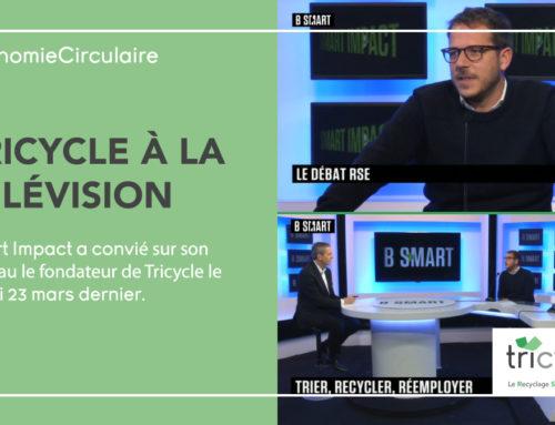 Le fondateur de Tricycle dans l'émission SMART IMPACT