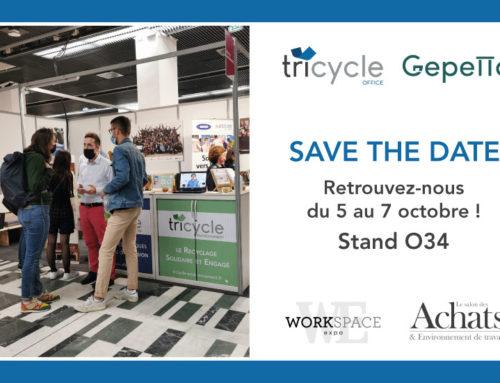 Tricycle participe à Workspace et le Salon des Achats et de l'Environnement de Travail 2021